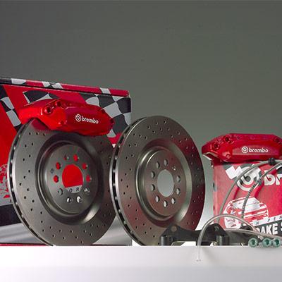 Brembo GT kit con dischi integrali