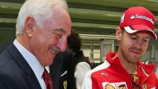 Vettel alla Brembo Il campione della Ferrari al fianco di Bombassei