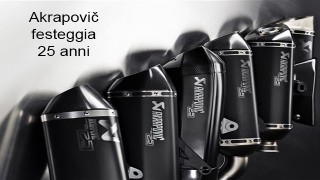 Akrapovič festeggia i suoi 25 anni con il lancio di una nuova edizione super-limitata di impianti di scarico