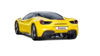 Nuovo Impianto di Scarico per Ferrari 488 GTB: Akrapovič svela il nuovo prodotto.