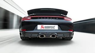 L'ultima realizzazione Akrapovič per un'icona Porsche