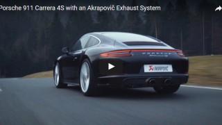 Impianto Akrapovič per Porsche Carrera 4S 991.2: guarda il video!