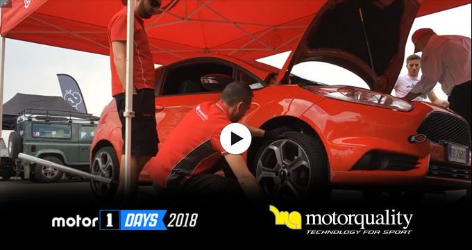 Grande successo di pubblico per il Motor1days ed alta partecipazione all'area controllo freni Motorquality.
