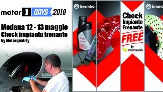 Motor1days all'Autodromo di Modena: check impianto frenante gratuito!