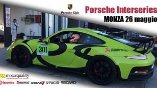 Porsche Club Interseries in pista a Monza.