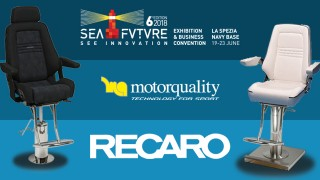 Sea Future 2018: Motorquality sulla giusta rotta con RECARO Maritime.