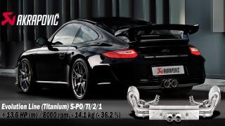 Akrapovic e Porsche: un binomio perfetto!