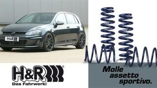 Molle H&R: migliore controllo dell'auto e guida eccellente!