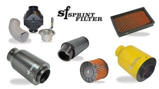 Scopri l'intera gamma di filtri aria Sprint Filter per auto.